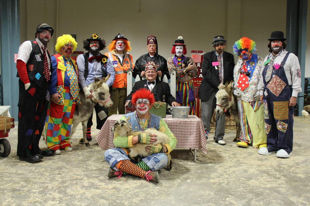 2016 Mizpah Shrine Circus Clowns